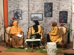 dr. Quratul menjadi narasumber program Ayo Sehat TVRI Aceh